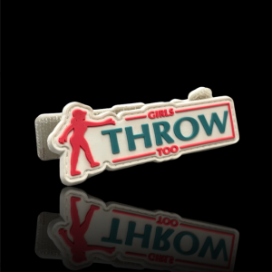 Girls Throw Too Patch